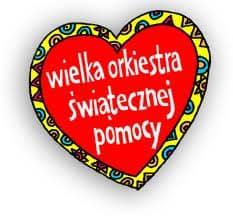 Serduszko Wielkiej Orkiestry Świątecznej Pomocy