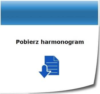 Harmonogram 2019 PO Infrastruktura i Środowisko